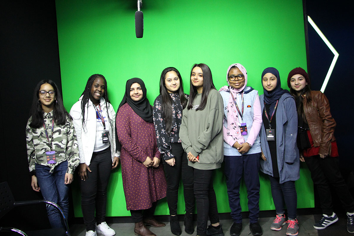 Creative iMedia, Computer Science and ICT students during a trip to London to expand subject knowledge and experiences in February 2019